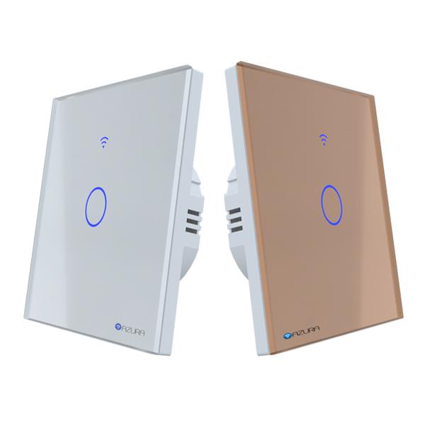 Công tắc đèn thông minh 1 kênh hình vuông (AUS-SQ01)
